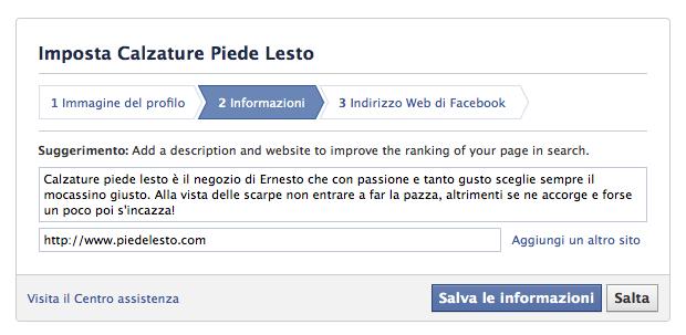 creare-pagina-facebook-descrizione-e-sito
