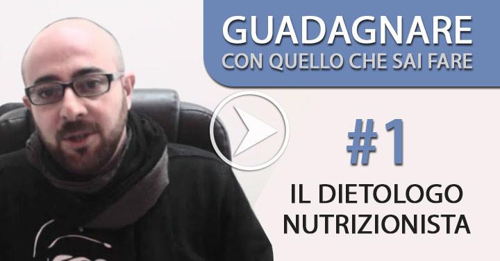 Guadagnare online lavorando come dietologo, nutrizionista